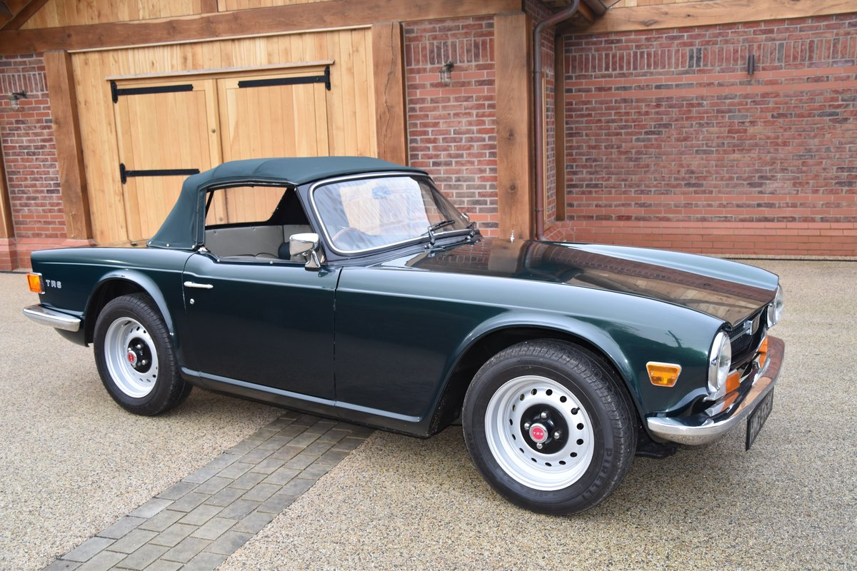1972 TR6 SOLD (picture 1 of 6)