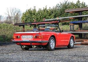 1968 Triumph TR6 SOLD by Auction