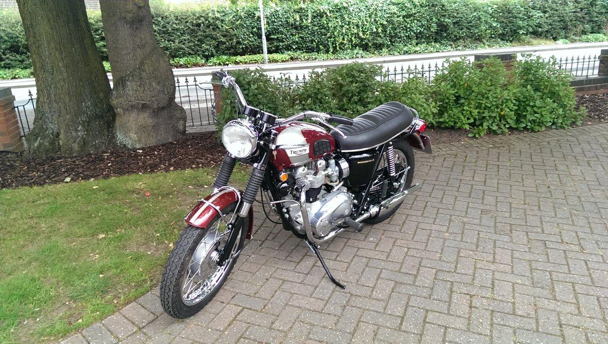 Triumph Bonneville T120R 1970 Classic Motorbike For Sale (picture 2 of 2)