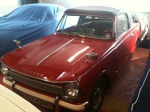 1969 FOR HIRE: '69 Triumph Herald 13/60 convertible