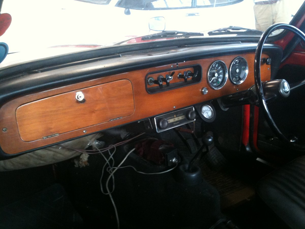 1969 FOR HIRE: '69 Triumph Herald 13/60 convertible For Hire (picture 2 of 6)