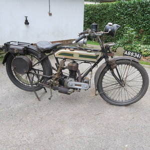 1921 Triumph motor bike For Sale by Auction
