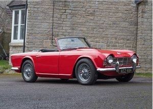 1961 Triumph TR4 SOLD by Auction