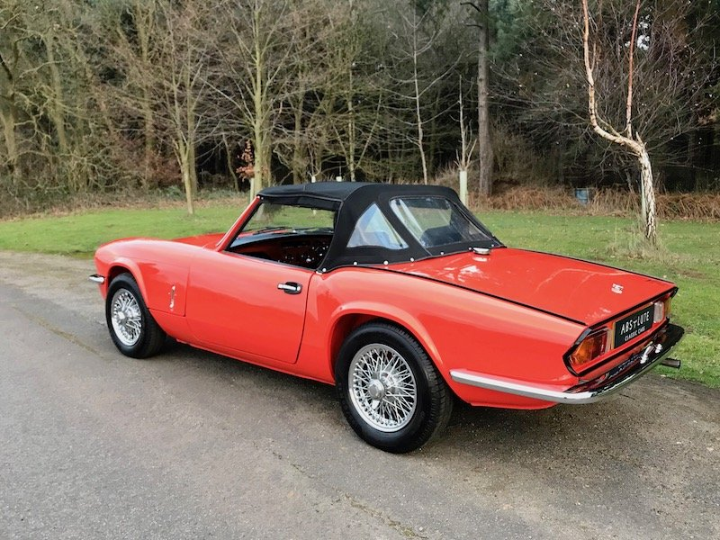 1981 Triumph Spitfire 1500 - £20k Resto - Stunning SOLD (picture 2 of 6)