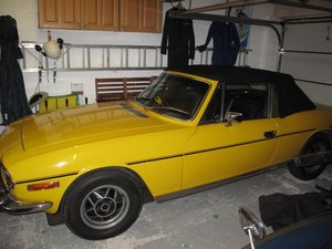 1972 Triumph Stag Manual with o/d For Sale