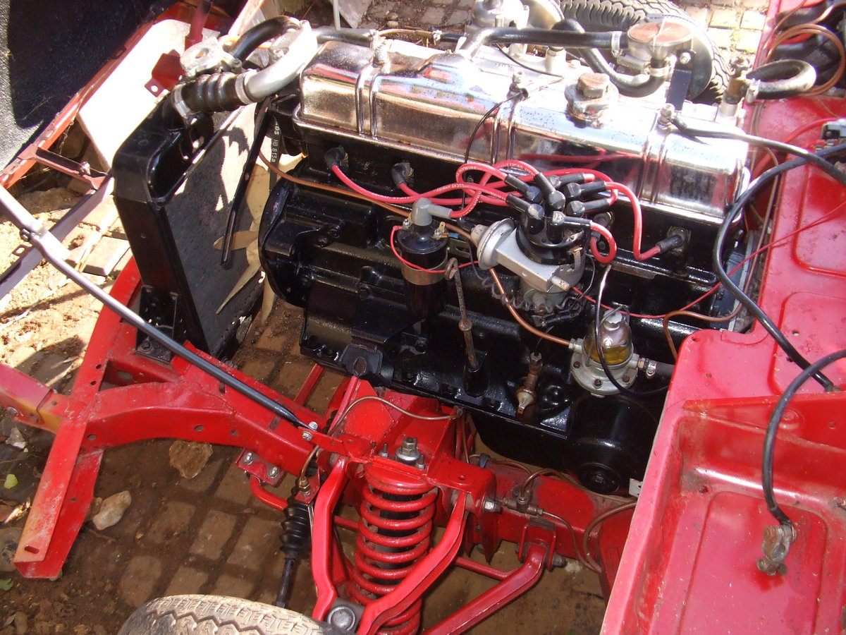 1969 GT6 MK2 CHASSIS UP RESTO NEEDS FINAL COMPLETION For Sale (picture 3 of 6)
