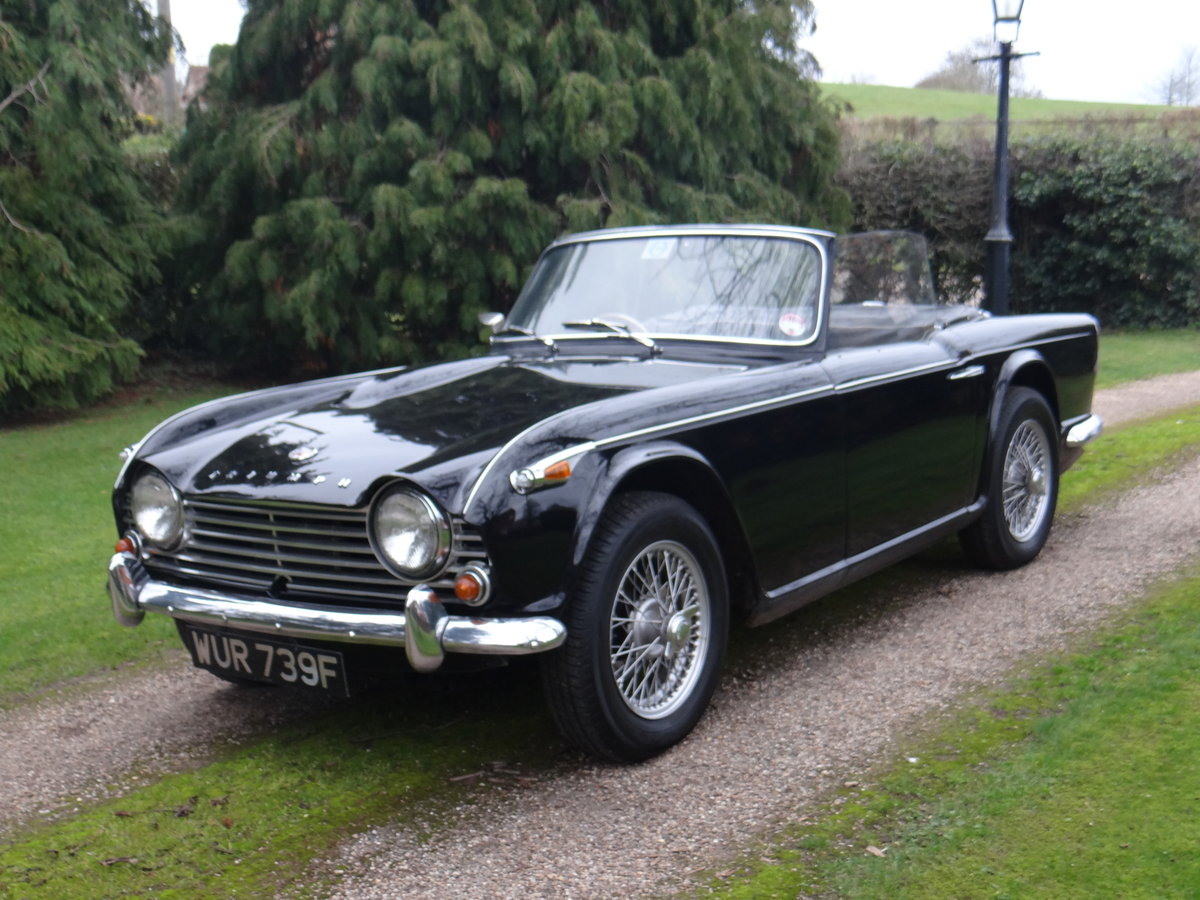 1967 Triumph Tr4a Irs With Overdrive For Sale By Auction Car And