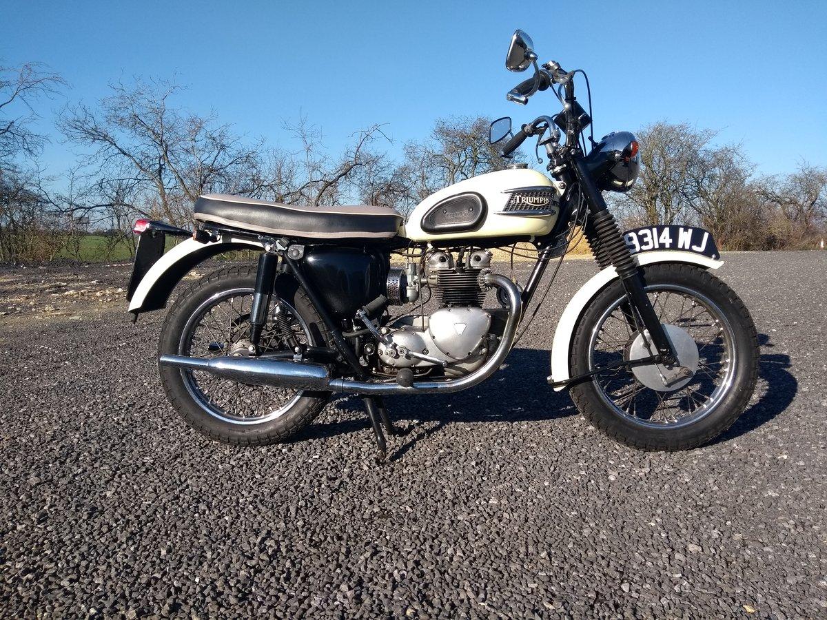 1960 Triumph 500 5TA For Sale (picture 1 of 6)