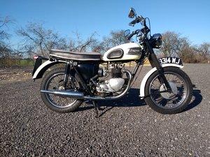 1960 Triumph 500 5TA