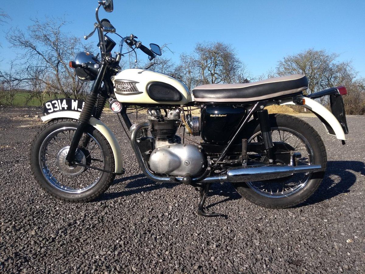 1960 Triumph 500 5TA For Sale (picture 2 of 6)
