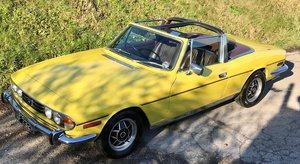 1973 Triumph Stag 3.0V8 Manual + Overdrive For Sale