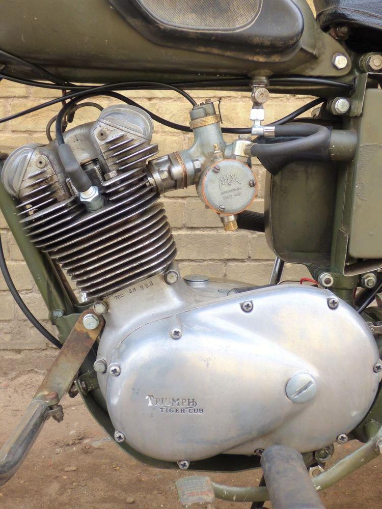 1966 Triumph T20 Tiger Cub 200cc SOLD (picture 4 of 6)