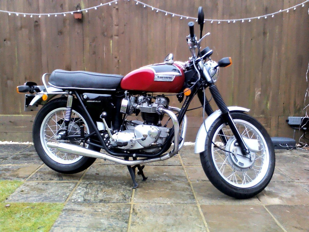 Triumph Bonneville T120R 1971 For Sale (picture 1 of 6)