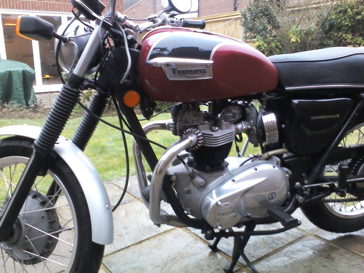Triumph Bonneville T120R 1971 For Sale (picture 6 of 6)