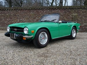 1976 Triumph TR6 two owners, only 29.059 miles, long term ownersh For Sale
