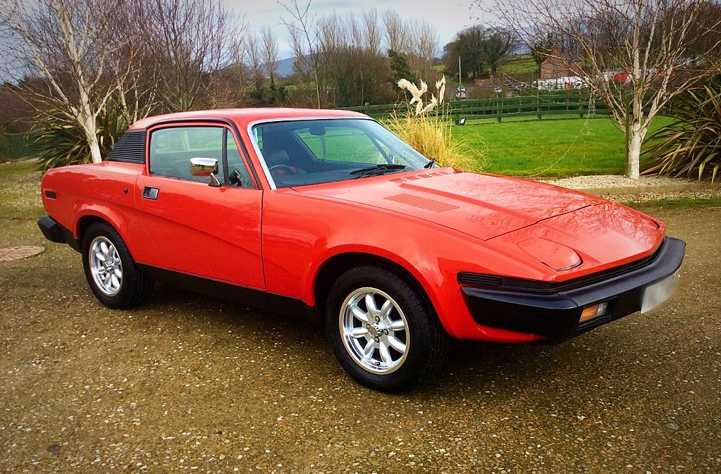 1977 TRIUMPH TR7 FIXED HEAD COUPE + NO SUNROOF - SUPERB For Sale (picture 1 of 6)