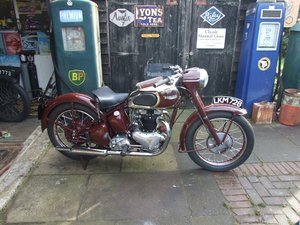 1949 Triumph 650 Speedtwin