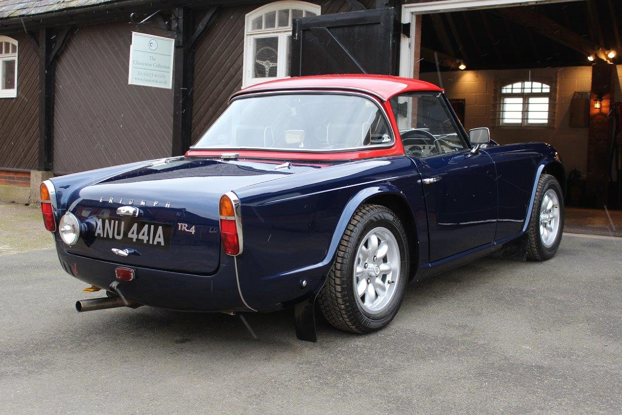 1963 TRIUMPH TR4  SOLD (picture 3 of 6)