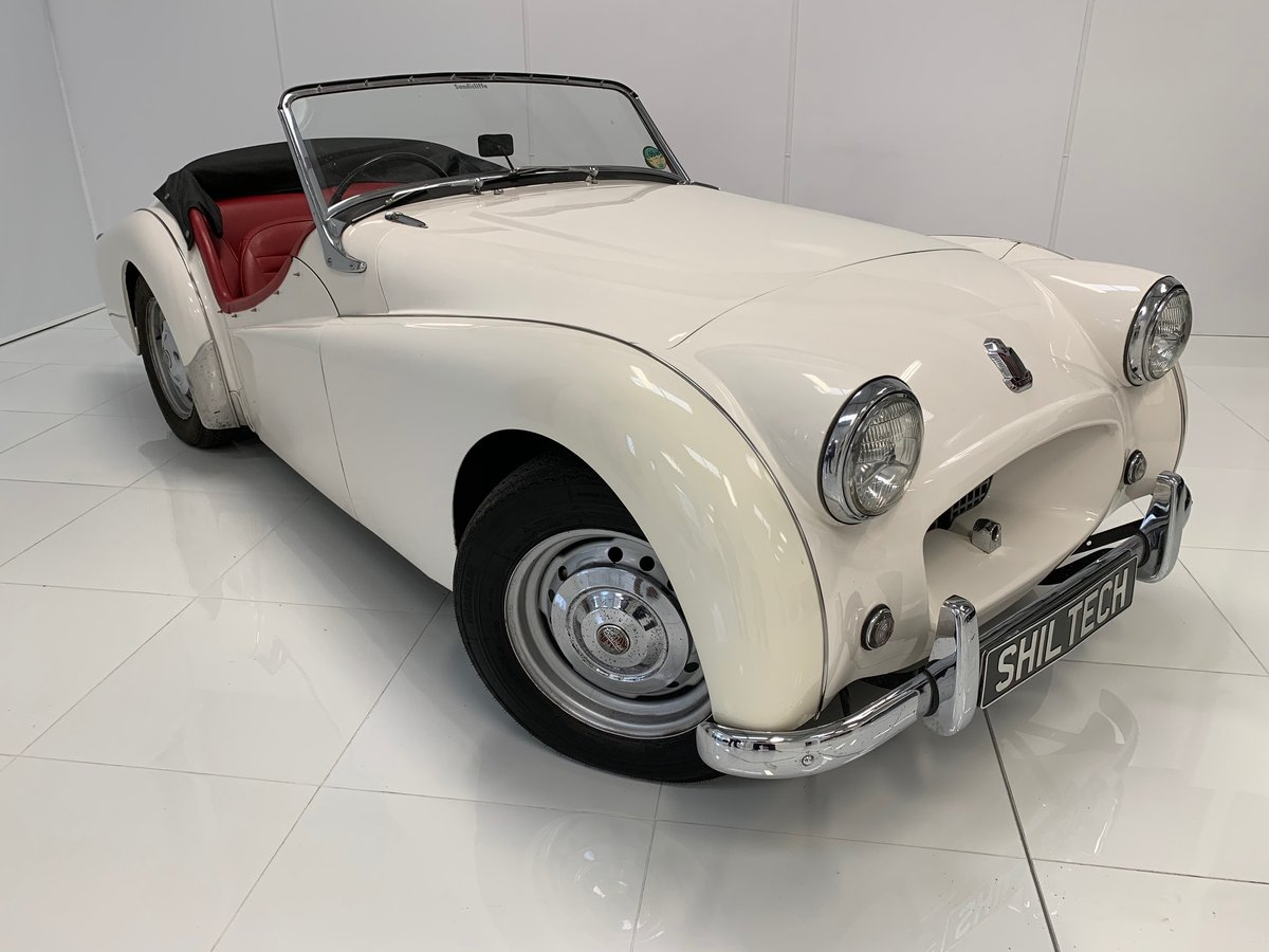 Triumph TR2 Long Door 1954, UK Car, Superb Example! For Sale (picture 1 of 6)