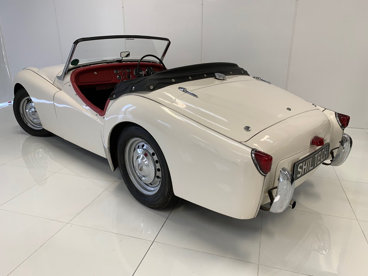 Triumph TR2 Long Door 1954, UK Car, Superb Example! For Sale (picture 2 of 6)