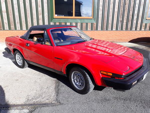 1981 Lovely rust-free Triumph TR7 convertible For Sale