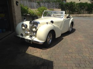 1949 Triumph Roadster part exchange for TR For Sale