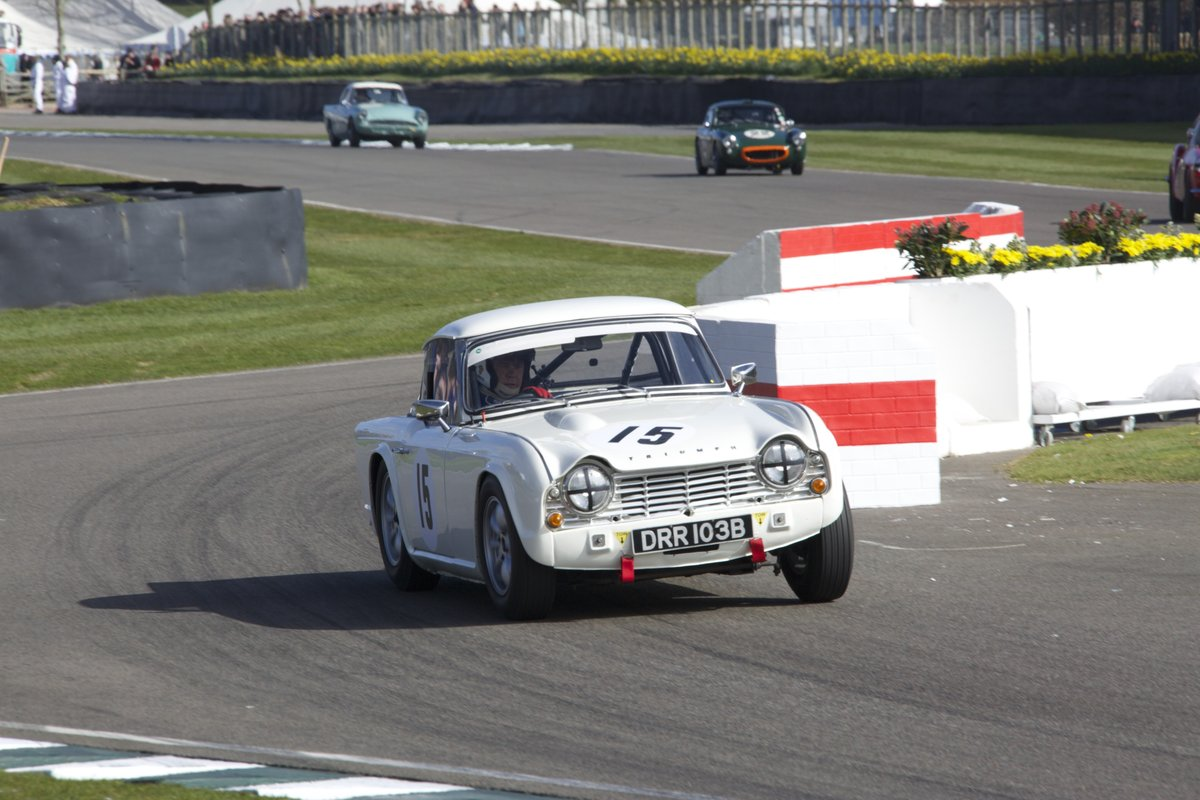 1964 Appx K TR4 race car For Sale (picture 1 of 5)