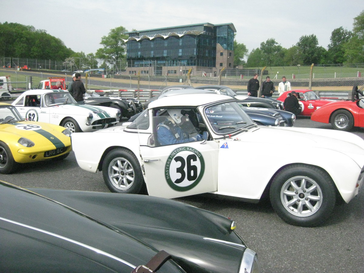 1964 Appx K TR4 race car For Sale (picture 4 of 5)