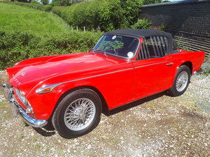 1967 TR4a live axle model SOLD