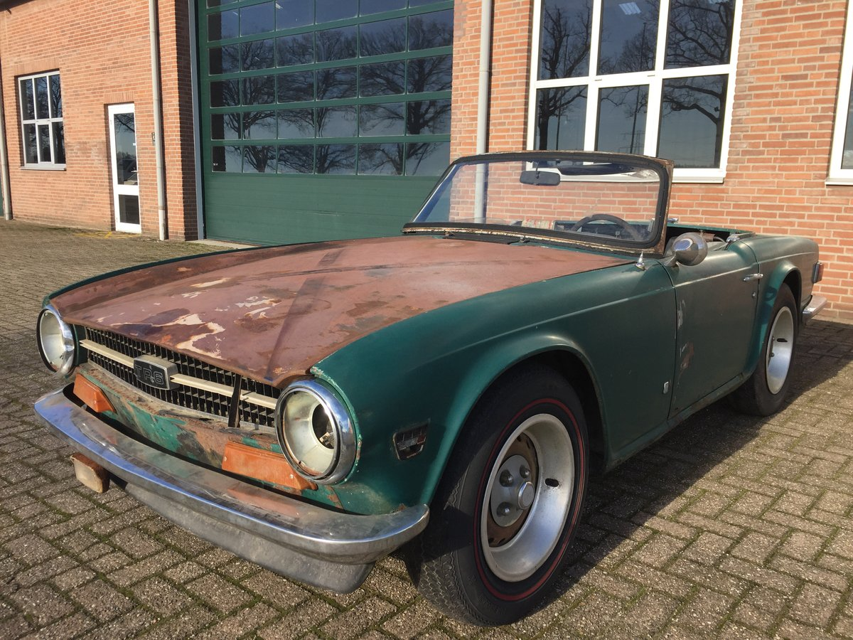 1974 Triumph TR6 for restoration | LHD US import For Sale (picture 1 of 6)