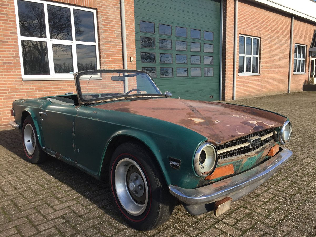 1974 Triumph TR6 for restoration | LHD US import For Sale (picture 2 of 6)