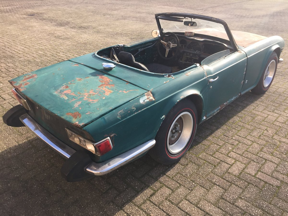 1974 Triumph TR6 for restoration | LHD US import For Sale (picture 3 of 6)