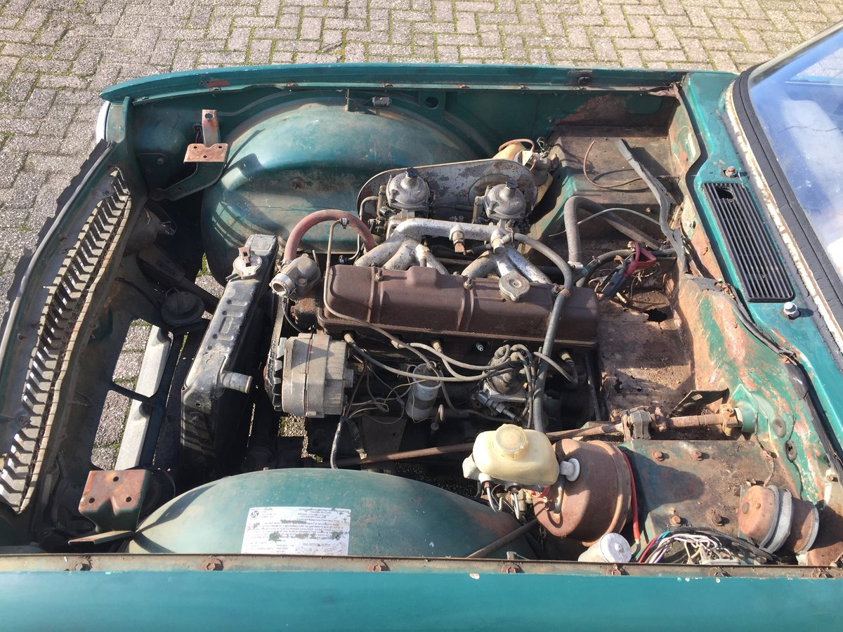 1974 Triumph TR6 for restoration | LHD US import For Sale (picture 6 of 6)