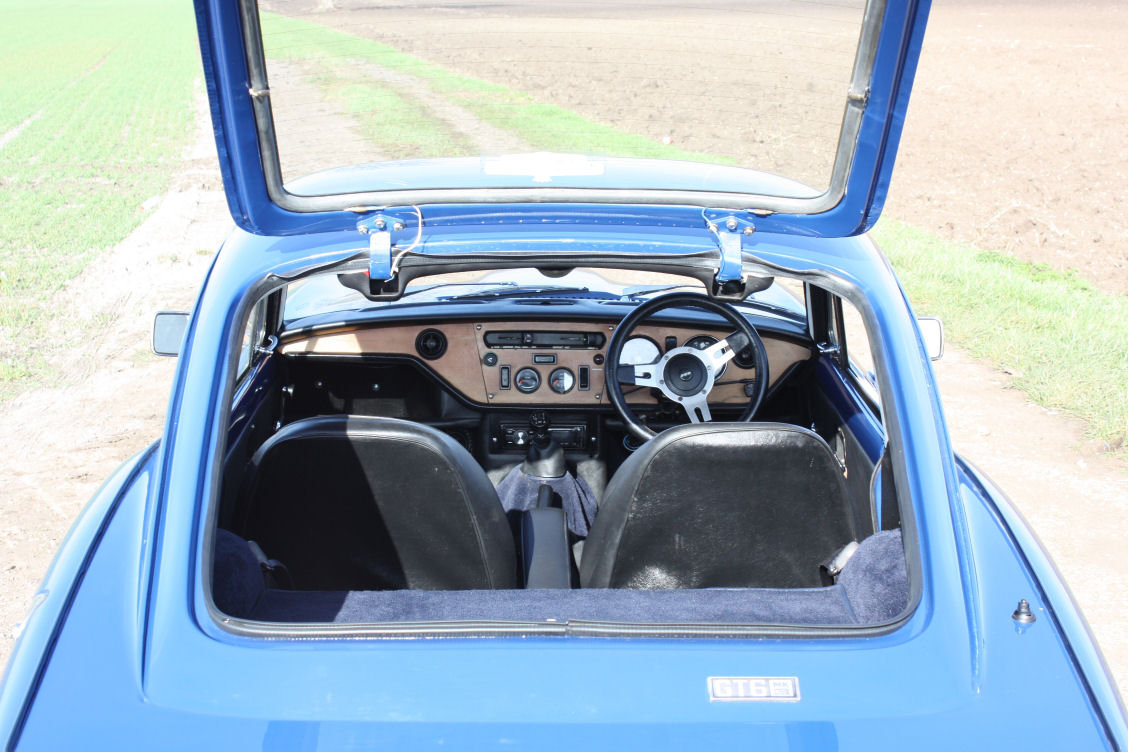 GT6 MKIII 1973 EXCEPTIONAL CONDITION For Sale (picture 2 of 6)