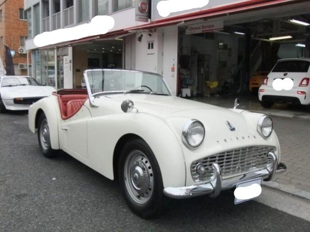 1960 Triumph TR-3 A For Sale (picture 1 of 6)