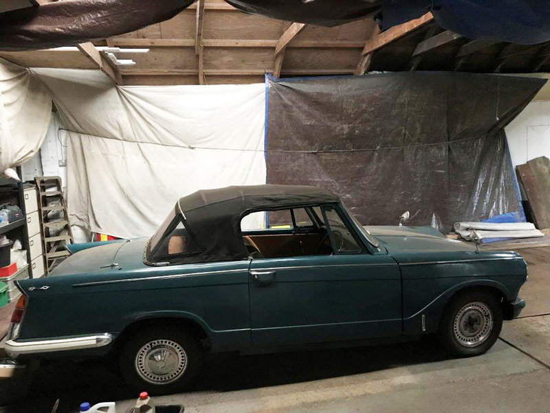1968 Triumph Herald For Sale by Auction 23rd February SOLD by Auction (picture 1 of 4)