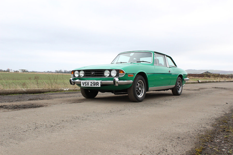 1977 Triumph Stag For Sale by Auction 23rd February SOLD by Auction (picture 1 of 6)