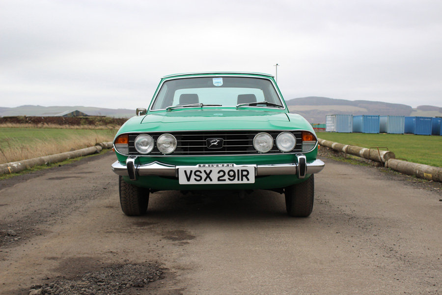 1977 Triumph Stag For Sale by Auction 23rd February SOLD by Auction (picture 2 of 6)
