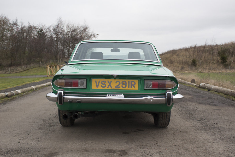 1977 Triumph Stag For Sale by Auction 23rd February SOLD by Auction (picture 3 of 6)