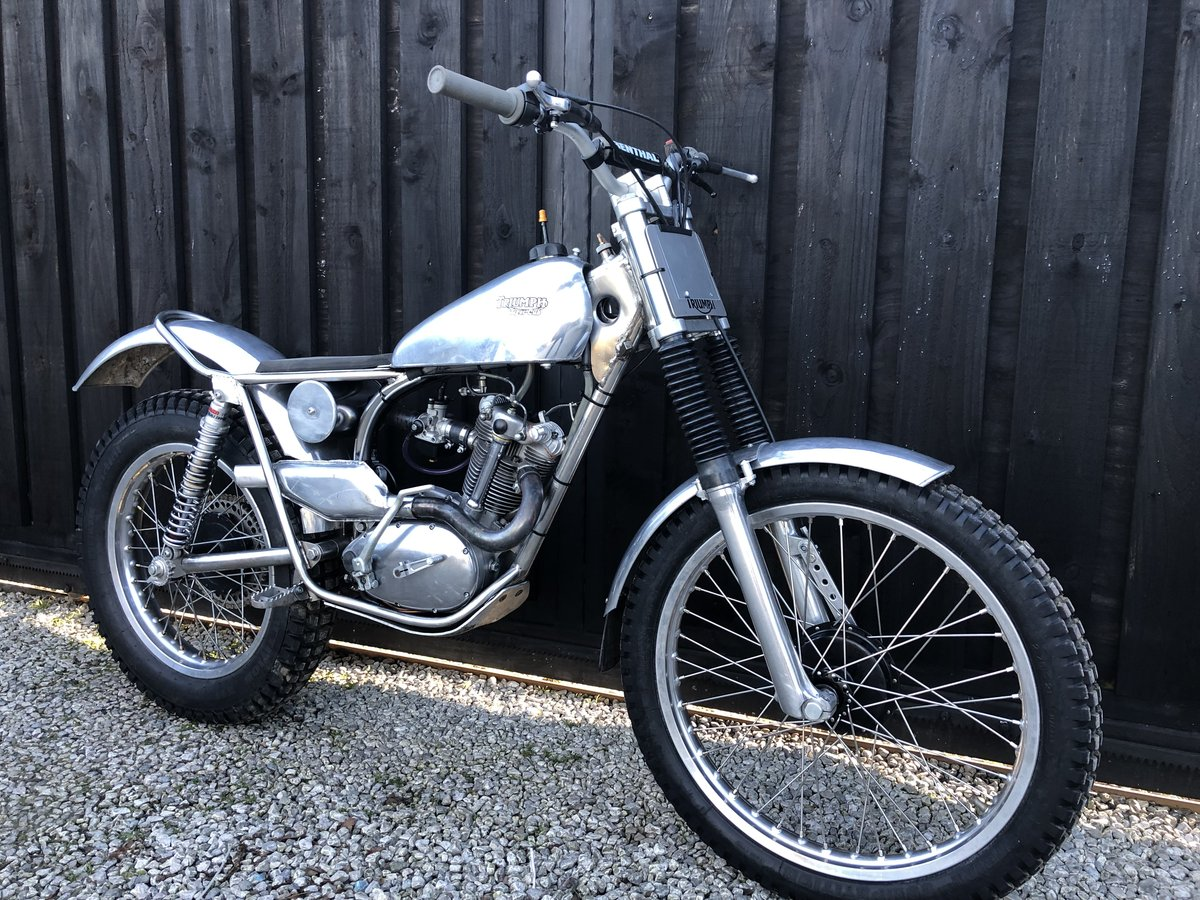 1965 TRIUMPH TIGER CUB TRIALS MINT FANTASTIC BIKE £6995 OFFERS PX For Sale (picture 1 of 5)