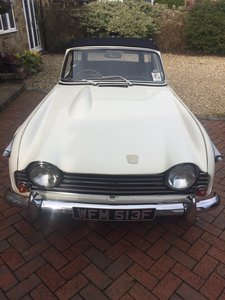 1968 Triumph TR5 PI (Genuine UK CP car)