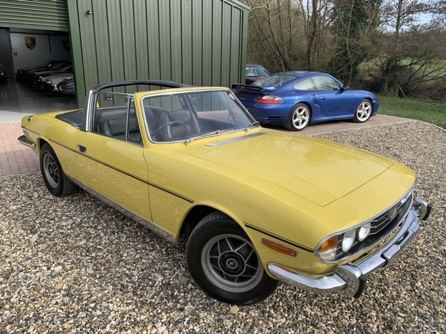 1971 STAG MK1  JUST HAD  FULL  REPAINT  ONLY  3  FORMER OWNERS  For Sale (picture 1 of 6)