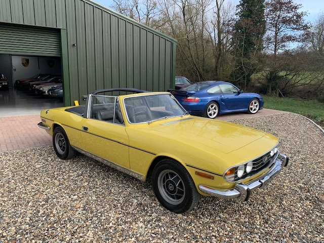 1971 STAG MK1  JUST HAD  FULL  REPAINT  ONLY  3  FORMER OWNERS  For Sale (picture 2 of 6)