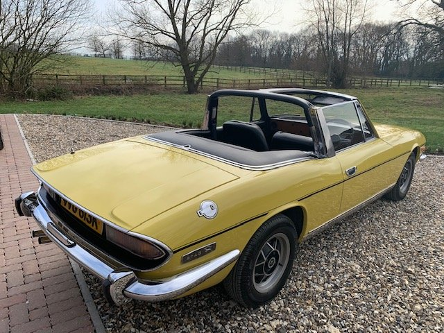 1971 STAG MK1  JUST HAD  FULL  REPAINT  ONLY  3  FORMER OWNERS  For Sale (picture 4 of 6)