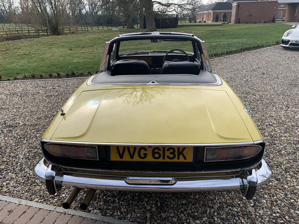 1971 STAG MK1  JUST HAD  FULL  REPAINT  ONLY  3  FORMER OWNERS  For Sale (picture 5 of 6)