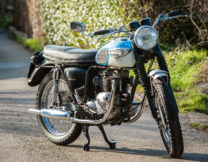 1966 Matching numbers 500cc T100 Tiger