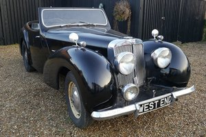 Triumph Roadster 2000 1949 Fresh Barn Find For Sale