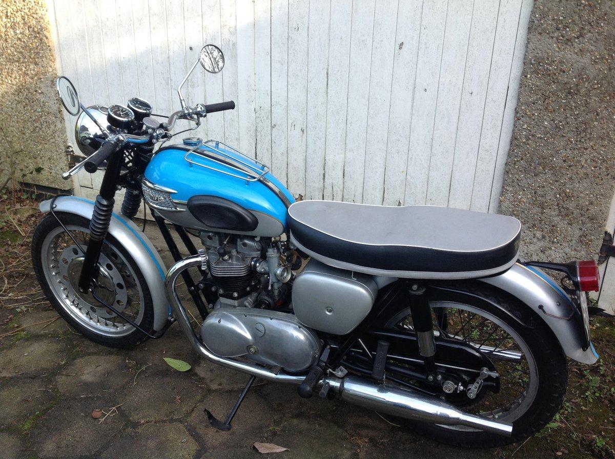 1961 Triumph Bonneville T120 Pre-unit For Sale (picture 2 of 2)