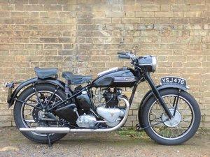 1951 Triumph 3T 350cc SOLD