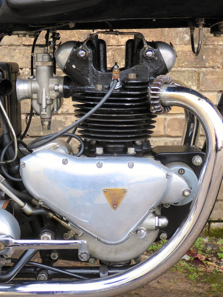 1951 Triumph 3T 350cc SOLD (picture 3 of 6)